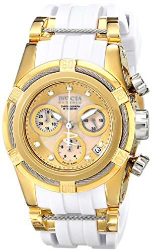Invicta Women's 15282 Bolt Analog Display Swiss Quartz White Watch