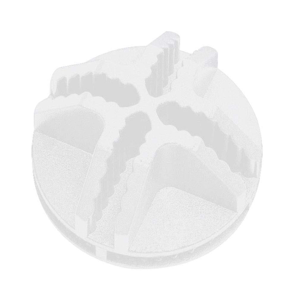 Vosarea Conectores pl/ásticos del Cubo del Alambre 20Pcs para el Almacenamiento Modular del Cubo del Armario del Armario y de la Red del Alambre