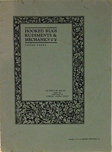 [Hooked Rugs: Rudiments & Mechanics (Lesson Three)] (Leaves Hooked Rug)
