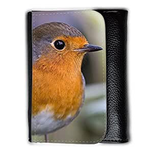 le portefeuille de grands luxe femmes avec beaucoup de compartiments // F00003807 animal pájaro cantante al aire libre // Medium Size Wallet