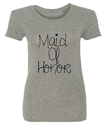 Maid Of Honor Hochzeit Nozze Wedding Party Damen T-shirt
