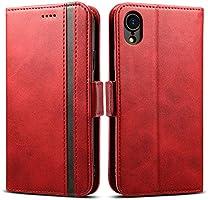 Rssviss Coque pour Samsung Galaxy A41, Housse Galaxy A41 en Cuir PU, 4 Emplacements pour Cartes et Monnaie avec Fermeture...