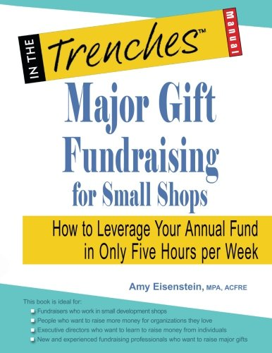 Major Gift Fundraising for Small Shops: How to Leverage Your Annual Fund in Only Five Hours per - Shop E-gift