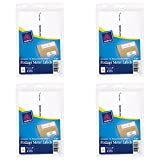 Avery Postage Meter Labels, Personal Post Office e700, 1.187 x 6 Inches, White, 60 per Pack (5289), 4 Packs