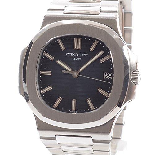 [パテックフィリップ]PATEK PHILIPPE 腕時計 ノーチラス 5711/1A-010 中古[1308569]ブルー 付属:国際保証書 ボックス 冊子 B07FDZJ3YP