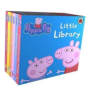 Peppa Pig: Little LibraryBoard book – 6 Aug. 2009