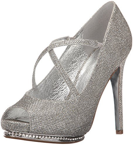 Adrianna Papell Womens Golda Dress Pump Steel