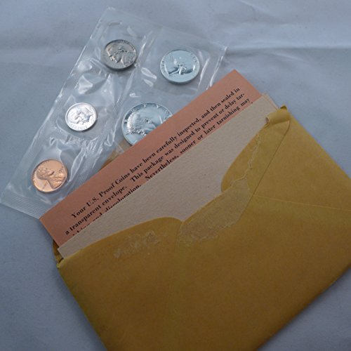 1964 US Proof Set 5 coin silver set Mint State ()