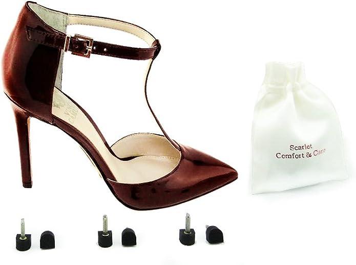 FCSC116 3 pairs x Stiletto High Heel Shoes DIY Replacement Heel Tip