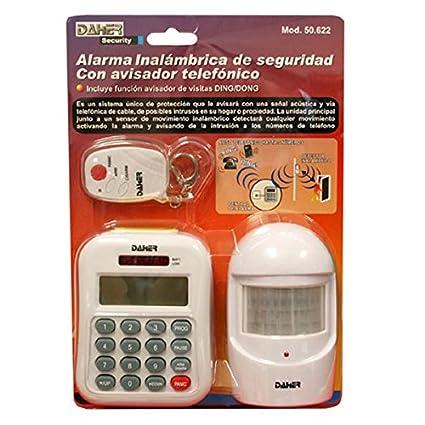 ElectroDH 50622 DH Central DE Alarma Seguridad INALAMBRICA + ...