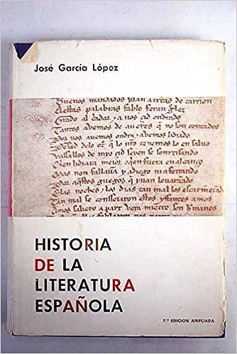 Historia de la Literatura Española (Manuales