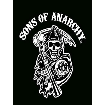 Berühmt Amazon.com: Sons of Anarchy Reaper Throw: Home & Kitchen #XM_35