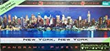 PANORAMIC PUZZLE New York, New York GLOW IN THE DARK 750 Piece Over 3 Feet Wide Puzzle MADE IN USA by Panoramic puzzle