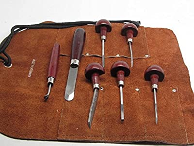 7pc Mezzotint Rocker Etching Intaglio Printmaking Roulette Elliptic Kit USA