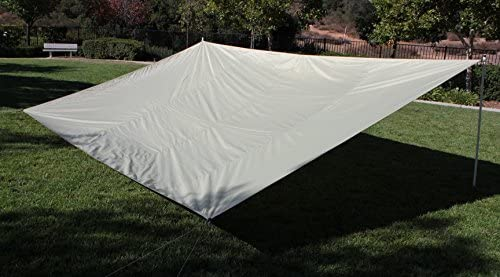 G3ELITE 19 ' x 12 ' Rectangle Light Green Shade Sail