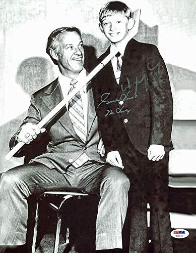 Wayne Gretzky & Gordie Howe Mr Hockey Autographed Signed 11x14 Photo PSA U50043 (Gordie Howe Mr Hockey)