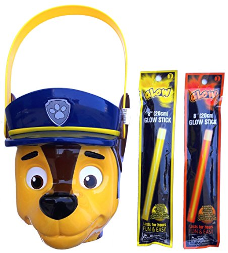 Nickelodeon Paw Patrol Halloween Trick or Treat Candy Bucket for the Big Paw Patrol Fans -