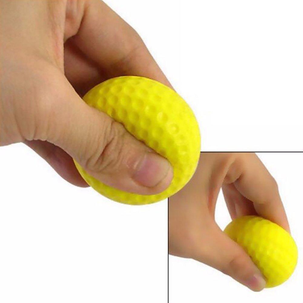 practice golf balls smartlife15 foam sponge soft elastic. Black Bedroom Furniture Sets. Home Design Ideas