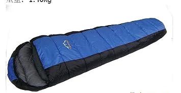 Alta calidad de primavera y otoño, bolsa de dormir de buena calidad sobre cosido sacos