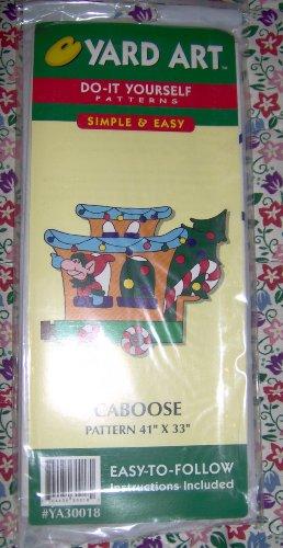 Christmas Caboose - Do It Yourself Yard Art - 41
