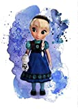 Wall Art Decoration Cartoon Movie Baby Princess Poster Print Size A3 (30cm x 42cm) Unframed For Childrens Girls N11