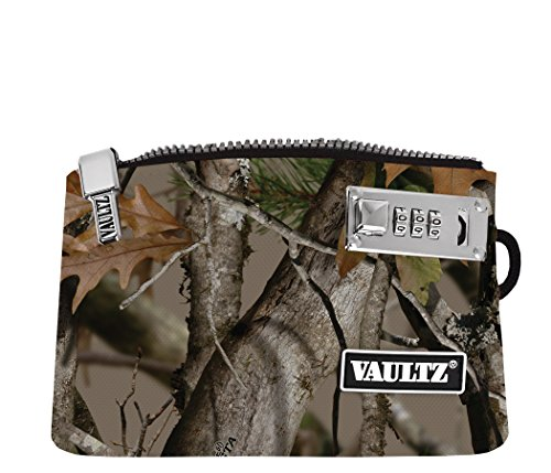 VaporVaultz Locking Accessory Pouch, 1 x 5.x 8 Inches, Next Camo (VZ00506)