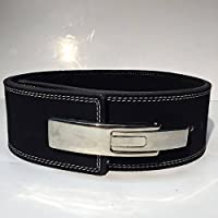 New Omaha Belts Powerlifting Belt with Lever Buckle - Weightlifting - Crossfit (Medium 29-34 In)