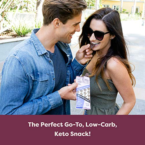 Kiss My Keto Low Carb Keto Dark Chocolate Keto Snack, (4 Pack) A Perfect Sweet Treat with MCT Oil for Ketogenic Diet Support Sugar-Free, Keto Friendly Foods - No Artificial Ingredients