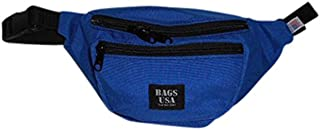 product image for Fanny Pack 3 Compartment,tough Cordura with YKK zipper Made in U.S.A. (Blue)