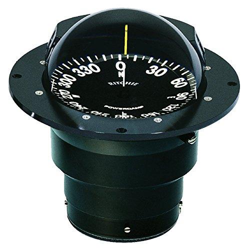 (Ritchie FB-500 Globemaster Compass - Flush Mount - Black - 12V - 5 Degree Card)
