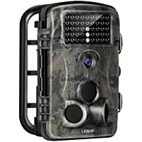 LESHP Trail Game Camera 1080P 12MP Wildlife Hunting Camera Infrared Night Vision