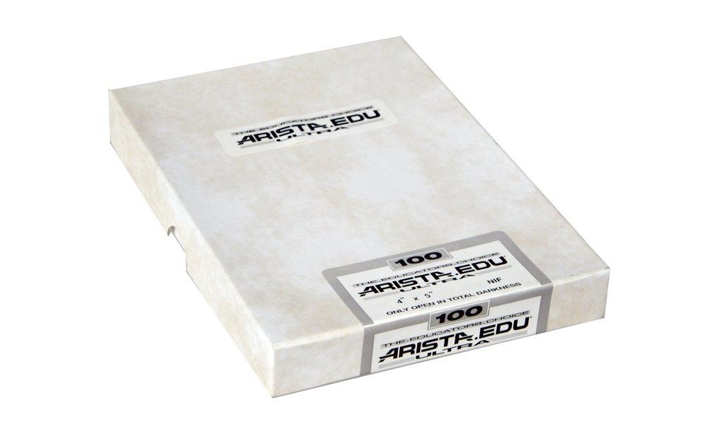 ARISTA 190125 EDU Ultra ISO 100 4X5/25 (White) FOMA