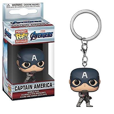 Funko Pop! Keychains: Avengers Endgame - Captain America: Toys & Games