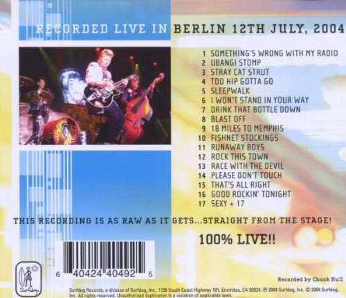 Live From Europe: Berlin July 12 2004