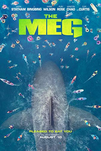 bribase shop The Meg 2018 Movie poster 36 inch x 24 inch