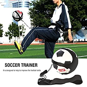 Vbestlife Hands-Free Soccer Kick Training Aid for Kids
