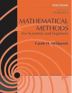 Mathematical methods for scientists and engineers donald a solutions to accompany mcquarries mathematical methods for scientists and engineers fandeluxe Image collections