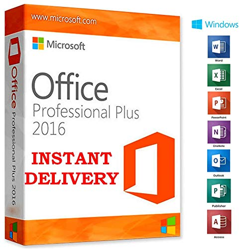 Office 2016 Professional Plus For Windows Product Key License
