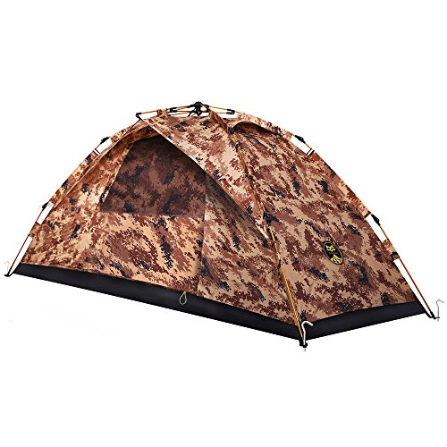 Ai-Uchoice 1 Person Backpacking Tent – Automatic Instant Mountaineering Tent Lightweight Waterproof for Camping Hiking Traveling