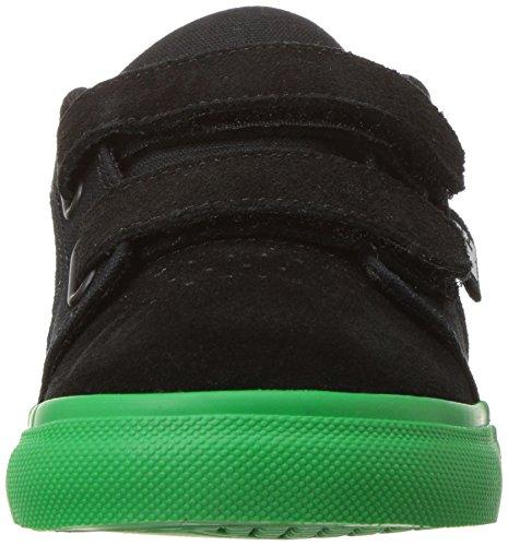 DC Kleinkinder Anvil V Lowtop Schuhe, EUR: 25.5, Black/Green