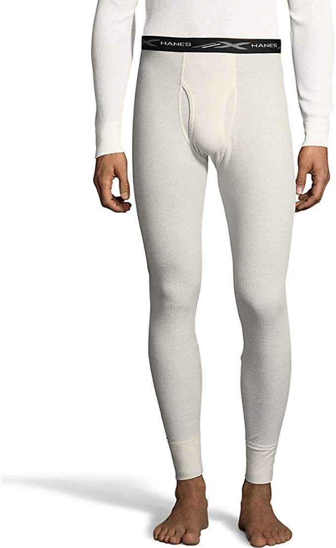 Hanes Mens Waffle Knit Thermal Pant 3X-4X