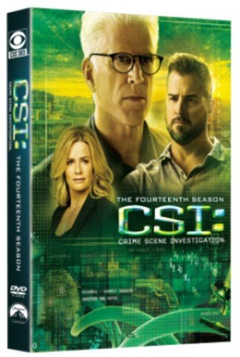 DVD : CSI: The Fourteenth Season (AC-3, , Widescreen, Sensormatic, 6 Disc)