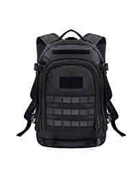 YAKEDA® 600D waterproof polyester backpack, waterproof military backpack tactical backpack--A88051