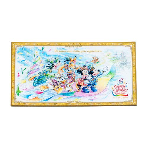 [해외]미키 & 프렌즈 포스트 카드 35 주년 그랜드 피날레 문구 디즈니 기념품 【 도쿄 디즈니 리조트 한정 】 / Mickey & Friends postcard 35th Anniversary Grand finale stationery Disney souvenir [Tokyo Disney Resort Limited]