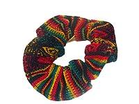 Peruvian Scrunchy Hair Tie Set of Three Assorted Peru Cotton Fair Trade Hair Band