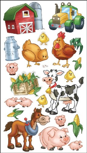 Sticko Farm Friends Stickers