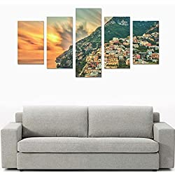 Home Decor Canvas Print Sets Wall Print Set Wall Art Print Posters on Canvas for Positano