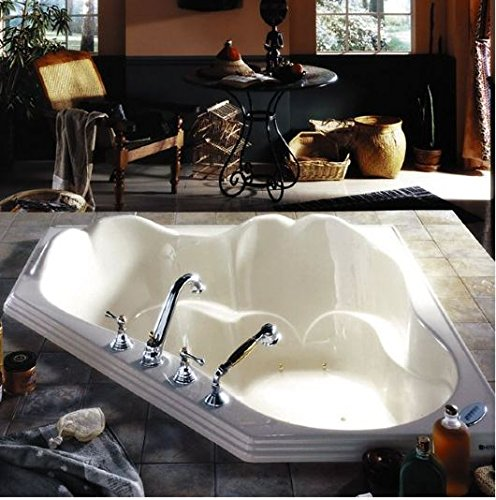 Neptune Orphee Corner Mass-Air Tub-53-3/4