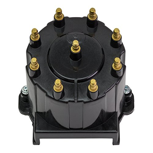 (Quicksilver 808483T3 Distributor Cap Kit - Marinized V-8 Engines by General Motors with Delco HEI Ignition Systems, Except MPI Engines with ECM 555 Connections)