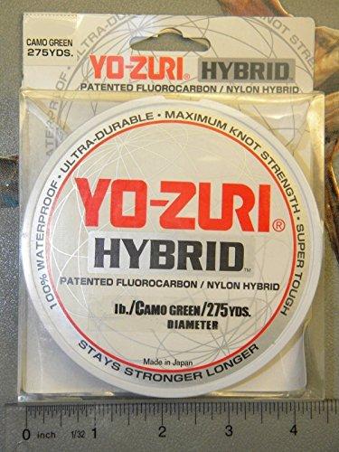 Yo-Zuri 275-Yard Hybrid Monofilament Fishing Line, Camo Gree